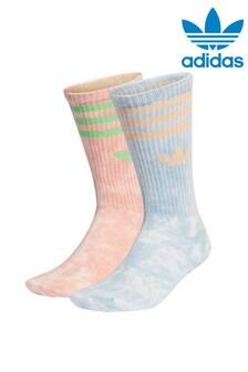 adidas Originals Tie Dye Crew Socks 2 Pack