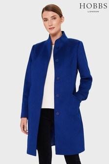 Hobbs Blue Mandy Coat