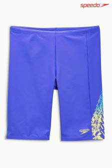 Speedo® Blue Lightning Spritz Panel Jammer Short