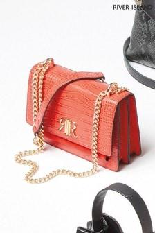 River Island Red Pocket Front Bag