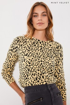 Mint Velvet Animal Maisie Print Jumper