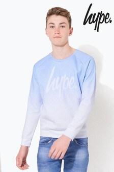 Hype. Speckle Fade Script Kids Crew Neck Sweater