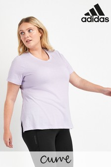 adidas Curve Lilac Go To T-Shirt