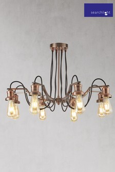 Penny 8 Light Ceiling Fitting by Searchlight