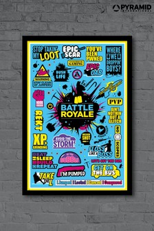 Pyramid International Fortnite Framed Poster