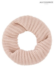 Accessorize Pink Opp Delicate Snood