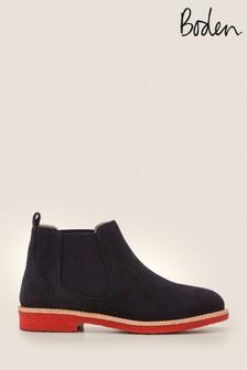 Boden Blue Oakington Ankle Boots