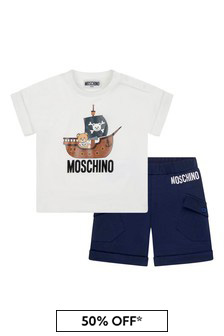 Moschino Kids Baby Boys Cotton Outfit