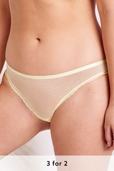 Mesh Knickers