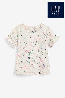 Gap Frill Sleeve Pocket T-Shirt