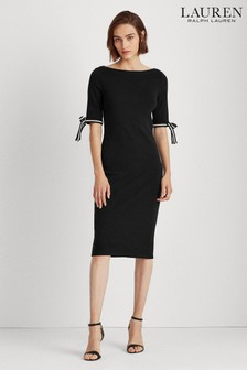 Lauren Ralph Lauren® Black Jersey Brandies Dress