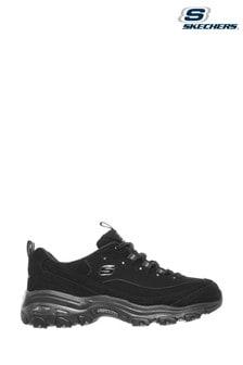 Skechers Black D'Lites Play On Shoes