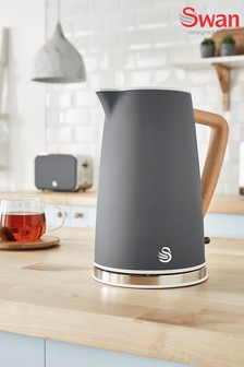 Nordic Grey Cordless Kettle by Swan