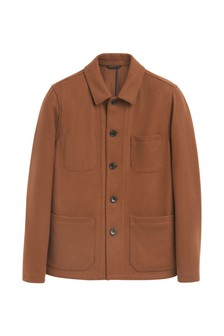 Wool Blend Worker Jacket