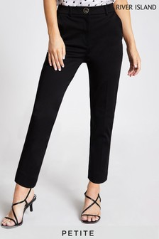 River Island Black Cigarette Trousers