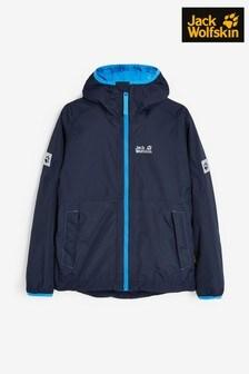 Jack Wolfskin Navy Rainy Days Jacket