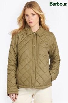 Barbour® Coastal Diamond Quilt Lightweight Caps Jacket