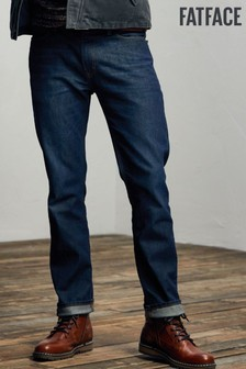 FatFace Blue Slim Dark Vintage Wash Jeans