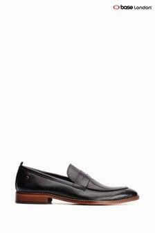 حذاء سهل اللبس أسود Lenseمن Base London