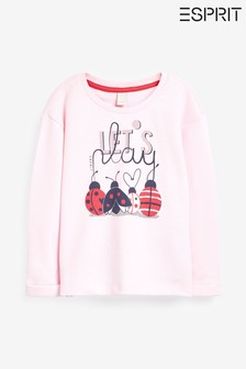 Esprit Ladybird Sweatshirt, Pink