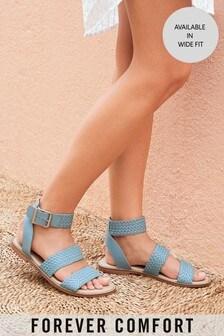 Three Part Weave Sandals