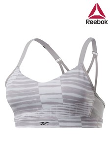 Reebok Studio Powder Grey Bra