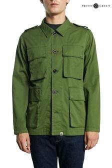 Pretty Green Khaki Vincenza Jacket