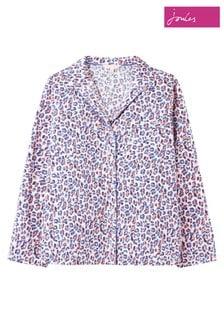 Joules Purple Dream Long Sleeve Pyjama Top