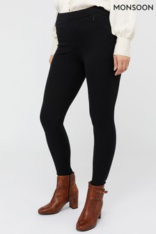 Monsoon Black Lilia Treggings