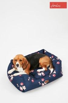 Joules Floral Pet Box Bed