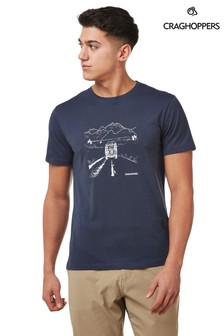 Craghoppers Blue Nelson T-Shirt