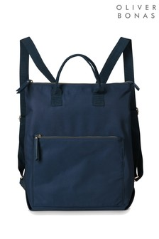 Oliver Bonas Baden Backpack Tote Bag