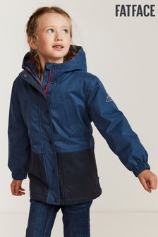FatFace Blue Olivia Waterproof Jacket