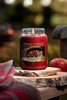Yankee Candle Classic Large Jar Crisp Campfire Apples Candle