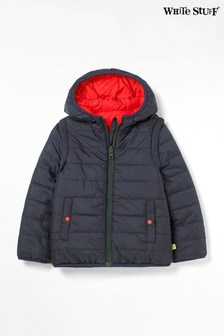 White Stuff Red Kids 4-In-1 Reversible Padded Jacket