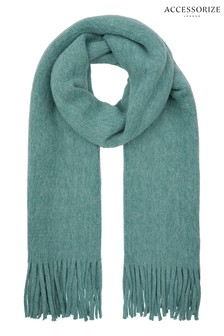 Accessorize Blue Brushed Scarf