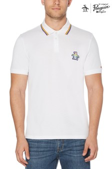 Original Penguin® Short Sleeved Multi Sicker Pete Pride Polo