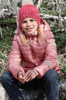 Polarn O. Pyret Pink Water Resistant Winter Padded Jacket