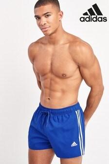 מכנסי שחייה קצרים עם 3 פסים של adidas