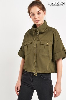 Lauren Ralph Lauren® Olive Canvas Jacket