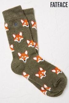 FatFace Green Fox Mallory Socks