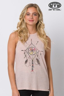 Animal Blush Smile Graphic Vest