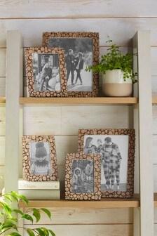 Cut Log Effect Frame