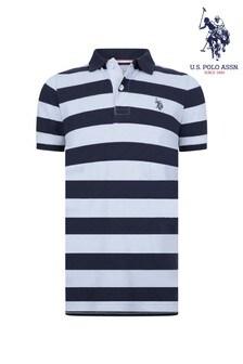 U.S. Polo Assn. Block Stripe Poloshirt