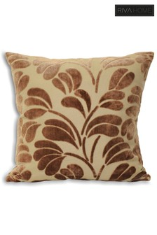 Palm Leaf Cushion by Riva Home