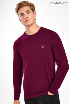 Gant Mens Superfine Lambswool Crew