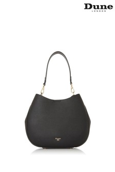 Dune London Black Demillie Plaie Embossed Shoulder Bag
