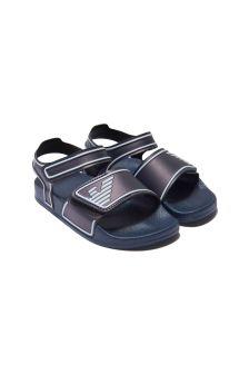Emporio Armani Navy Sandals