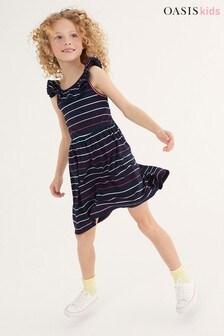 Oasis Jersey Frill Dress