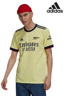 adidas Arsenal Yellow Away 2122 Football Shirt